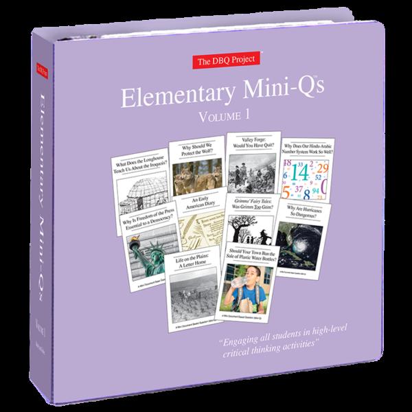 elementary mini-qs binder
